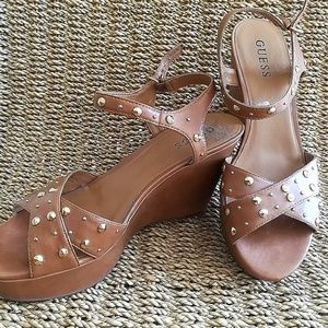 Guess Studded Wedges